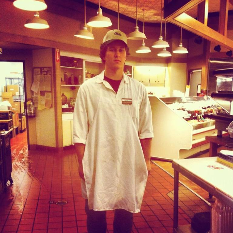 Alex at The Butcher Shop